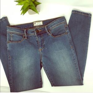 NEW Free People mid rise ankle skinny jeans